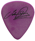 John Sykes Guitar Pick